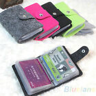 COLORFUL LADY POUCH CREDIT ID HOLDER ORGANIZER CASE CARD WALLET POCKET BD3K