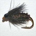 BLACK & PEACOCK SPIDER Trout & Grayling Wet Fly fishing flies