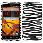 Boost Mobile ZTE Boost Max Rubberized HARD Case Snap On Phone Cover Accessory