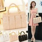 New Retro Style Women's Ladies Lace Designer Tote Vintage Shoulder Bags Handbag