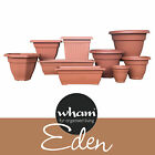 Plastic Garden Plant Pots Planter Terracota- Pick Your Size And Shape