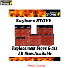 Rayburn Replacement Stove Glass - Heat Resistant