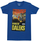 Doctor Who And The Daleks Poster Mighty Fine Adult T-Shirt Tee