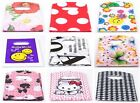 50Pcs Pretty Pattern Plastic Jewelry Gift Bag Handbag Shopping Bags 15x9cm
