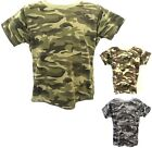 BOYS ARMY T SHIRT CAMOUFLAGE MILITARY TOP BNWT