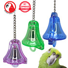 60018 SMALL BULLET PROOF BELL birds toys cages parrot plastic unbreakable safe