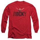 Rocky MGM Movie Victory Distressed Adult Long Sleeve T-Shirt Tee $24.95 USD on eBay