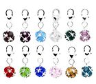 CRYSTAL BIRTHDAY MONTH  BALL CLIP ON CHARM FOR BRACELETS -12 COLOURS