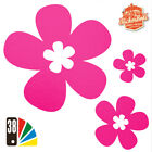 25 DAISY FLOWER STICKERS Car / Wall Art / Home Decals - ANY COLOUR SB4