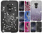 For LG G Flex Crystal Diamond BLING Protector Hard Case Phone Cover Accessory