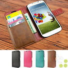 caseen AT&T Galaxy S4 SGH-I337 Luxury Leather Card Wallet Flip Stand Case Cover