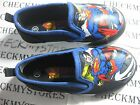 NIB SUPERMAN INFANT SHOES SLIP ON MULTI COLORED
