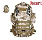Outdoor Military Tactical Molle Backpack Rucksack Camping Hiking Trekking Bag