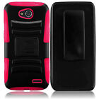T-Mobile LG Optimus L90 Hybrid Combo Holster KICKSTAND Cover + Screen Protector