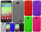 For T-Mobile LG Optimus L90 TPU CANDY Gel Flexi Skin Case Phone Cover Frosted