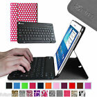 For Samsung Galaxy Tab 3 10.1 inch Tablet Bluetooth Keyboard Leather Case Cover