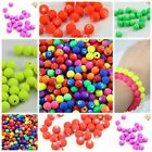 Fluorescen Miracle Acrylic candy Round Spacer Bead jewelry finding DIY 6/8/10mmD