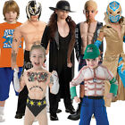 Childs WWE Muscle Chest Deluxe Wrestling Fancy Dress Kids Wrestler WWF Costume