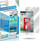 Lot New HD Clear Anti Glare LCD Screen Protector Cover for LG Optimus L90