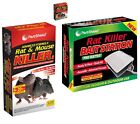 RAT MICE MOUSE RODENT PEST KILLER POISON BAIT WITH TRAY/ BOX INDOOR & OUTDOOR