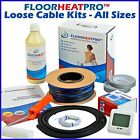 Electric Underfloor Undertile Heating Loose Cable Kit ALL SIZES Stone Ceramic