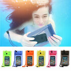 For iphone4s 5s Waterproof Underwater Cover fr Samsung Dry Bag Skin Case WHD756