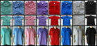 Casual mens short sleeve collared polo shirt golf sports beach pool SIZE IN AD