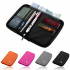 High Quality Travel Bag Wallet Full Zipped  Closure Passport Tickets Holder