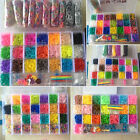 Rainbow Loom Kit 400-13500 Bands Set with Storage Case Box Organiser Board Hook