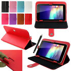 1X New Magic Leather Case Cover +Stylus For RCA 7' 7 Inch Android Tablet PC HOT