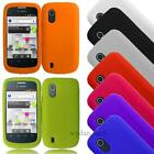 For ZTE Concord V768 T-Mobile Silicone Gel Skin Case Flexible Grip Cover