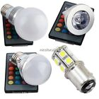E27 RGB 3/5W 16Colour Dimmable LED Bulb Changing Light Lamp+FREE remote N4U8