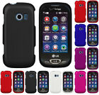 NEW PROTEX RUBBERIZED HARD CASE COVER FOR VERIZON LG EXTRAVERT-2 VN280 PHONE
