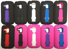 Samsung Galaxy S3 Mini Faceplate Phone Cover ARMOR CASE + HOME CHARGER