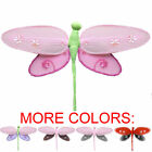 Dragonfly Nursery Decorations Fake Hanging Baby Girls Bedroom Walls Ceiling Kids