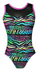 All size *Wild World* Girls Lycra Gymnastics/Dance leotard 28,30,32 & 34