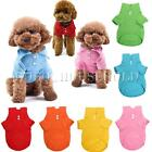 Pet Dog Cat Puppy Polo T-Shirt Suit Clothes Outfit Apparel Top Coats XS/S/M/L
