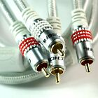 Choseal Gold Plated Audiophile HiFi RCA Interconnects Cable Pair