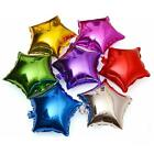 "New 10PCS 10"" Star Helium Foil Balloon,Holidays& Party Supplies Pure Colors - S"