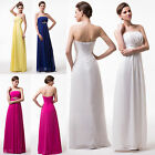 Elegant Wedding Bridesmaid Evening Cocktail Prom Gown Ball Party Maxi Long Dress