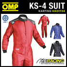 NEW! KK01724 OMP KS-4 KS4 KARTING RACE SUIT KART IDEAL FOR ENTRY LEVEL BEGINNER