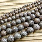 Natural Coffee Jasper Gemstone Round Beads 15'' 4mm 6mm 8mm 10mm 12mm 14mm