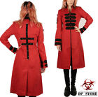TRIPP ANARCHY VICTORIAN GOTHIC GOTH VAMPIRE TRENCH BAND JACKET PUNK oi LONG COAT