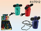 Mini Portable Fan - Hand Held Air Cooler - Summer Holidays Green Red Blue Yellow
