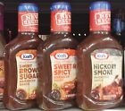 Kraft Barbecue BBQ Sauce Slow Simmered Grilling ~ Pick One