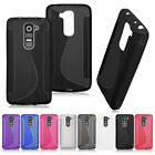 Soft TPU Case Cover Gel Solicon fitted Skin Bumper for LG G2 Mini D618 D620
