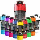 WORLDS BEST SHAKER CYCLONE CUP Protein Shaker Blender Mixer *ALL COLOURS*