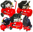 Rhyas 6 8 24 50 Litre VTwin V Twin Air Compressor + FREE Kit