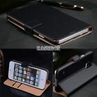 Vintage Real Genuine Leather Wallet Flip Stand Case Cover for iPhone 5C