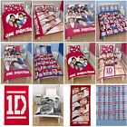 One Direction Duvet Cover Sets - Single + Double Sizes - Official 1D Merchandise